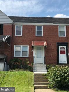 Residential Property for sale in 728 S WOODINGTON ROAD, Baltimore City, MD, 21229
