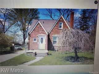 Single Family for sale in 19187 Grandview Street, Detroit, MI, 48219