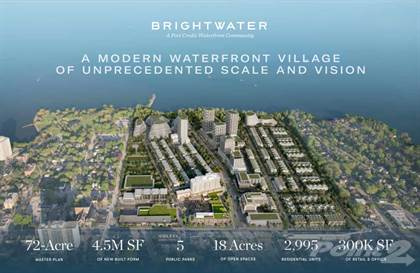 Residential Property for sale in Brightwater Condos & Towns Mississauga - Port Credit, Mississauga, Ontario, L5H2H3