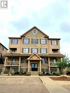 Single Family for sale in 1460 HIGHLAND Road W Unit 8G, Kitchener, Ontario, N2N0B7