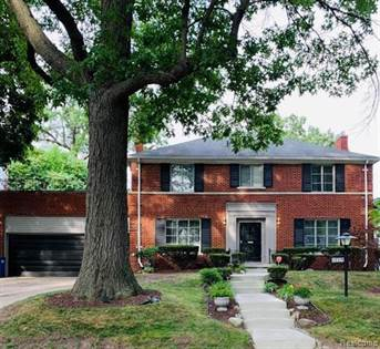 Residential Property for sale in 19724 CANTERBURY Road, Detroit, MI, 48221