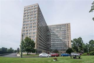 Condo for sale in 8900 E JEFFERSON Avenue 303, Detroit, MI, 48214
