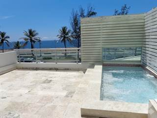 Condo for rent in Fully furnished oceanfront apartment for rent at torre Ibiza, El Cacique, Distrito Nacional