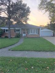 Single Family for sale in 28521 GLASGOW Street, Southfield, MI, 48076