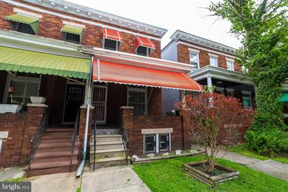 Residential Property for sale in 829 N BENTALOU STREET, Baltimore City, MD, 21216