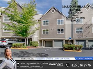 Townhouse for sale in 3116 164th St Sw 1807, Lynnwood, WA, 98087