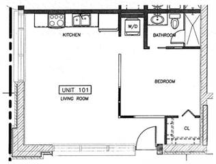 Apartment for rent in Midtown Lofts, Bloomington, IN, 47403