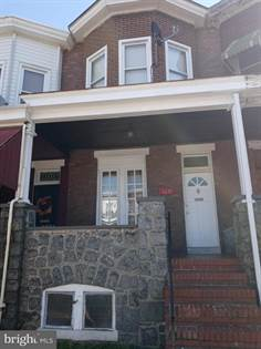 Residential Property for sale in 1617 N SMALLWOOD STREET, Baltimore City, MD, 21217