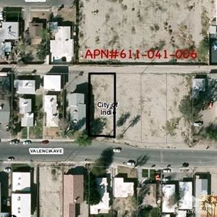 Lots And Land for sale in 00000 Valencia Avenue, Indio, CA, 92201