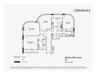 Condo for sale in 181 East 90th Street 9C, Manhattan, NY, 10128