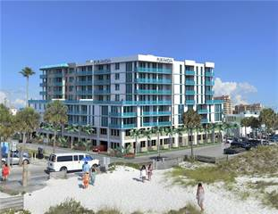 Condo for sale in 15 AVALON STREET 7F/703, Clearwater Beach, FL, 33767