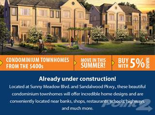 Townhouse for sale in 250 Sunny Meadow Blvd, Toronto, Ontario
