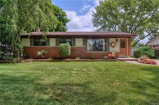 Single Family for sale in 15180 HOUGHTON Street, Livonia, MI, 48154