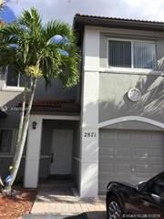 Townhouse for rent in 2871 SW 127 Avenue 2871, Miramar, FL, 33027