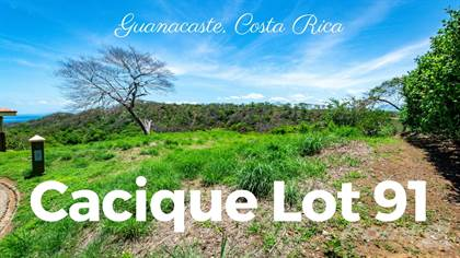Lots And Land for sale in Cacique Lot 91, Playa Hermosa, Guanacaste