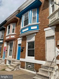 Residential for sale in 2104 W SARATOGA ST, Baltimore City, MD, 21223