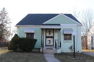 Single Family for sale in 17459 MACKAY Street, Detroit, MI, 48212