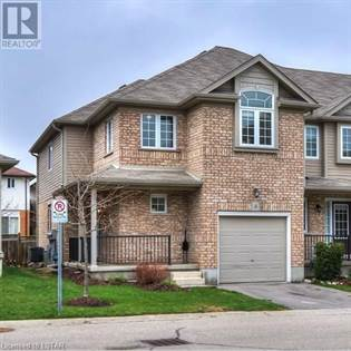 Single Family for sale in 555 CHABLIS DRIVE  4, Waterloo, Ontario, N2T0A5