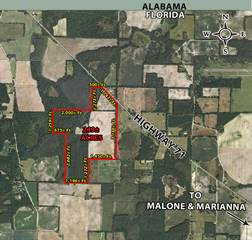 Land for sale in 0000 Logan (HIGHWAY 71), Malone, FL, 32445