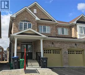 Single Family for rent in 11 GOWER ( LOWER ) CRES, Brampton, Ontario