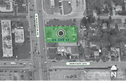 Land for sale in 2023 Mannheim Road, Melrose Park, IL, 60164