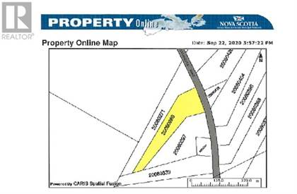 Vacant Land for sale in 11 Witteburg Road, Colchester Rural, Nova Scotia