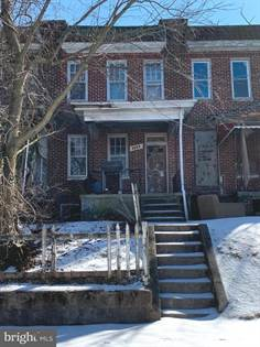 Residential for sale in 3003 RIDGEWOOD AVE, Baltimore City, MD, 21215