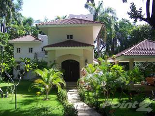 Residential Property for sale in 4K VIDEO TOUR! STUNNING 4 BEDROOM VILLA FOR SALE. WALK TO THE BEACH! 10 FRUIT TREES 40 ROYAL PALMS!, Cabarete, Puerto Plata