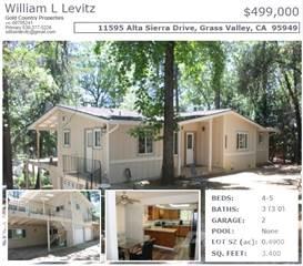 Residential Property for sale in 11595 ALTA SIERRA DRIVE, .49A, Alta Sierra, CA, 95949