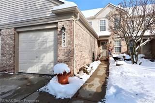 Condo for sale in 4231 HUNTERS Circle W, Canton, MI, 48188
