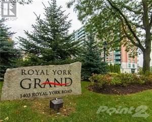 Condo for sale in -1403 ROYAL YORK RD 1106, Toronto, Ontario