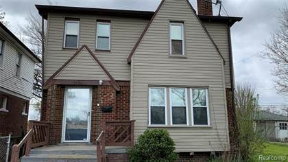 Residential Property for sale in 15351 MUIRLAND Street, Detroit, MI, 48238
