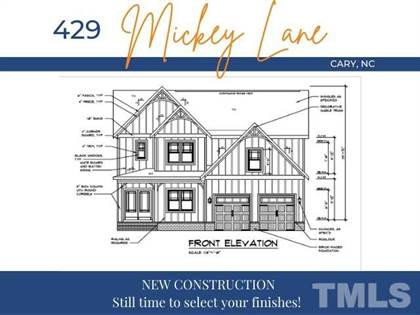 Residential Property for sale in 429 Mickey Lane, Cary, NC, 27513