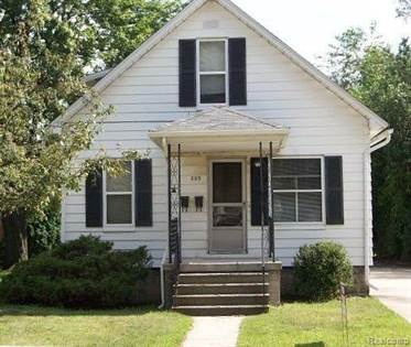 Residential Property for rent in 209 FAIR Street, Plymouth, MI, 48170