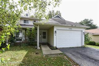 Townhouse for sale in 1351 Maroon Drive, Elgin, IL, 60120