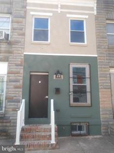 Residential Property for sale in 1809 RAMSAY STREET, Baltimore City, MD, 21223