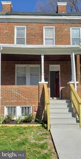 Residential Property for sale in 4021 WILSBY AVENUE, Baltimore City, MD, 21218