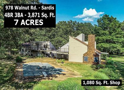Residential for sale in 978 Walnut Road, Sardis, MS, 38666