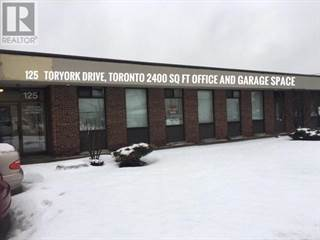 Office Space for rent in 125 TORYORK DR, Toronto, Ontario, M9L1X9