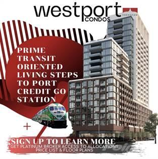 Condominium for sale in WESTPORT Condos Port Credit - 28 Ann Street, Mississauga, Mississauga, Ontario