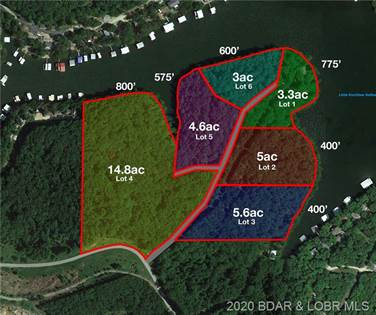 Lots And Land for sale in Lot 4 Pisces, Sunrise Beach, MO, 65079