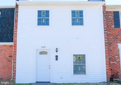 Residential for sale in 319 BROCK SQUARE, Fredericksburg, VA, 22401