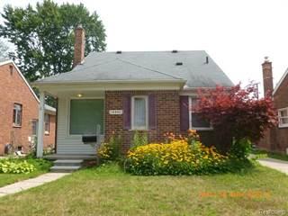 Single Family for sale in 15582 FOX, Redford, MI, 48239