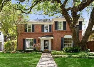 Single Family for sale in 4305 Mcfarlin Boulevard, University Park, TX, 75205