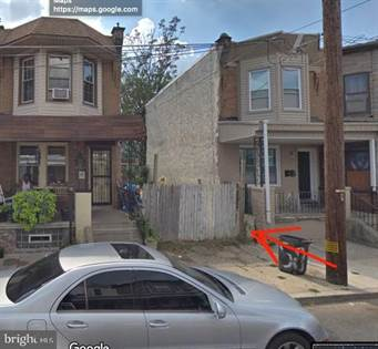 Lots And Land for sale in 1856 CLARENCE STREET, Philadelphia, PA, 19134