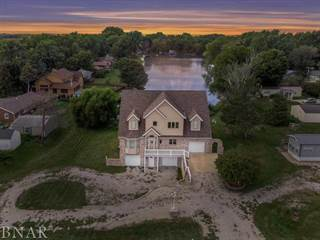 Single Family for sale in 24376 North 1750 Road East, Lake Bloomington, IL, 61748