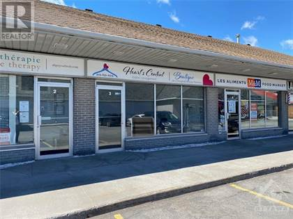 Retail Property for rent in 2848 LAURIER STREET UNIT 3, Rockland, Ontario, K4K1A3