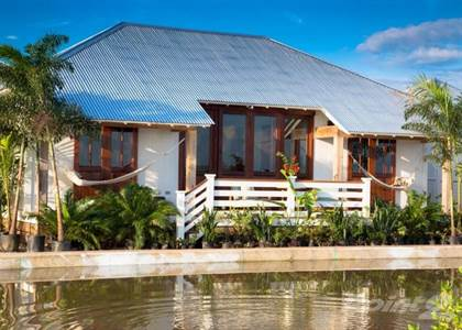 Residential Property for sale in Canal Front Property, Full Home & 2 Guest Suites, Ambergris Caye, Belize
