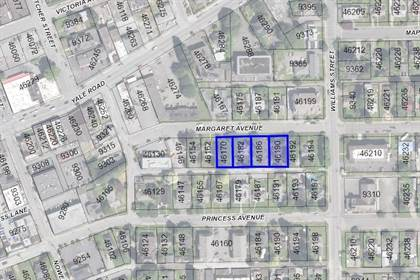 Vacant Land for sale in 46170-46190 MARGARET AVENUE, Chilliwack, British Columbia, V2P2G5
