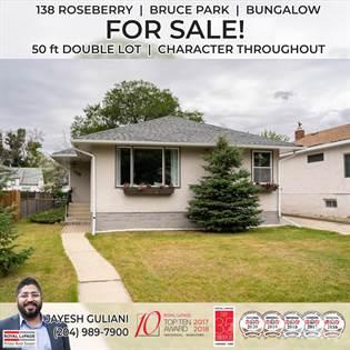 Residential Property for sale in 138 Roseberry, Winnipeg, Manitoba